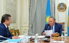Meeting with Tlektes Espolov, Rector of the Kazakh National Agrarian University