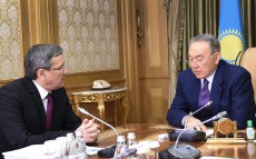 Meeting with Chairman of the National Security Committee Vladimir Zhumakanov