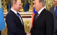 Meeting with President of the Russian Federation Vladimir Putin